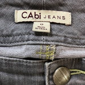 CAbi Jeans - CAbi Lou Lou Gray Jeans #332 Straight size 0